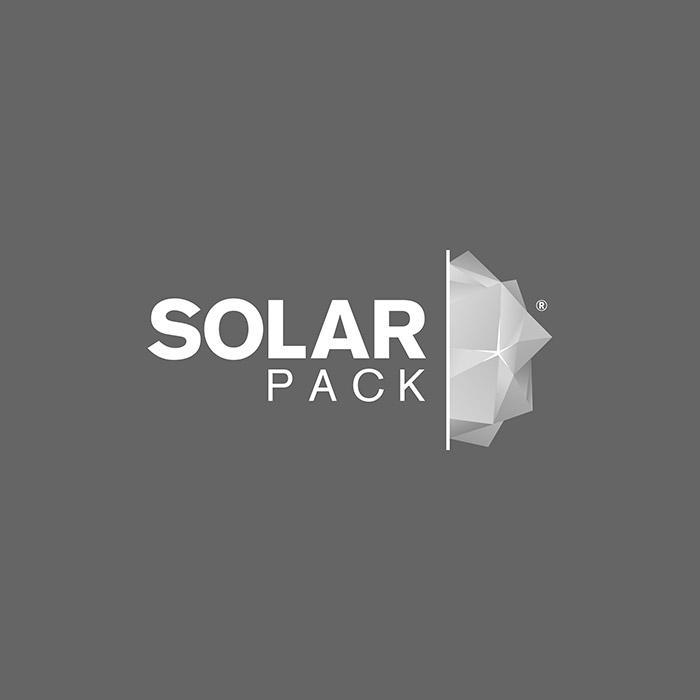 Logo solar pack