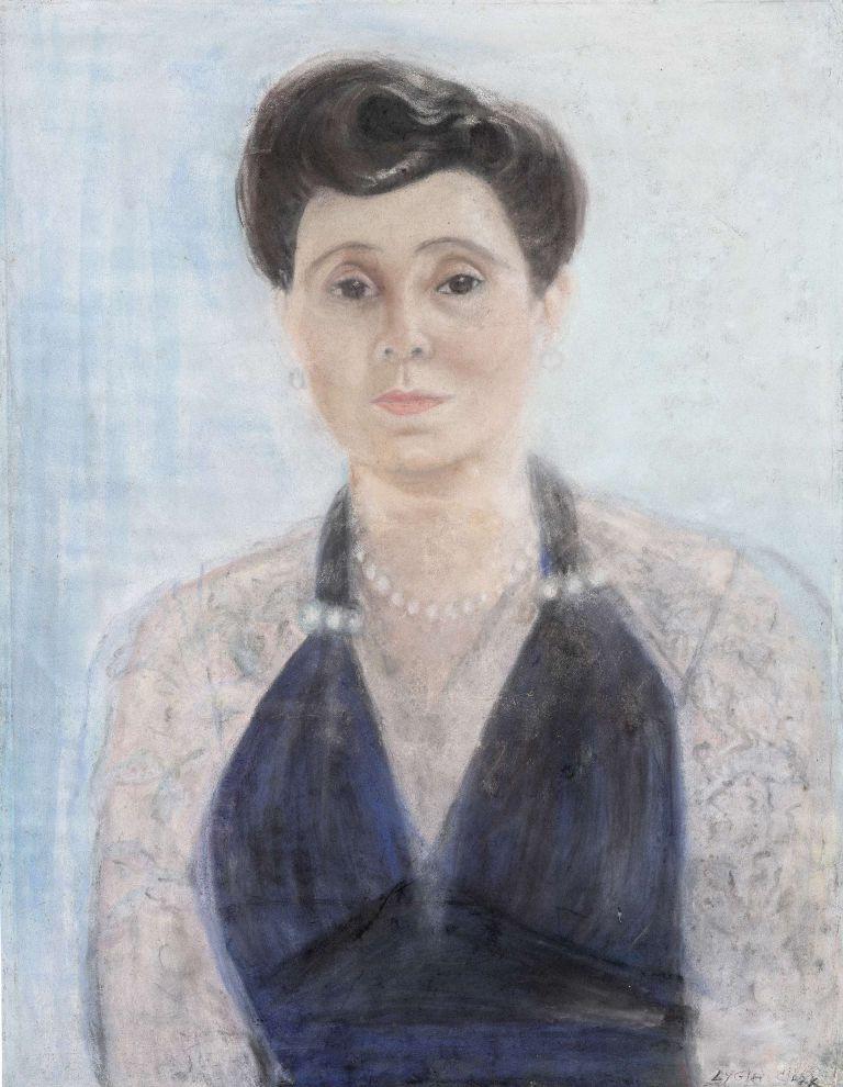 Retrato de la pianista Angélica de Rezende