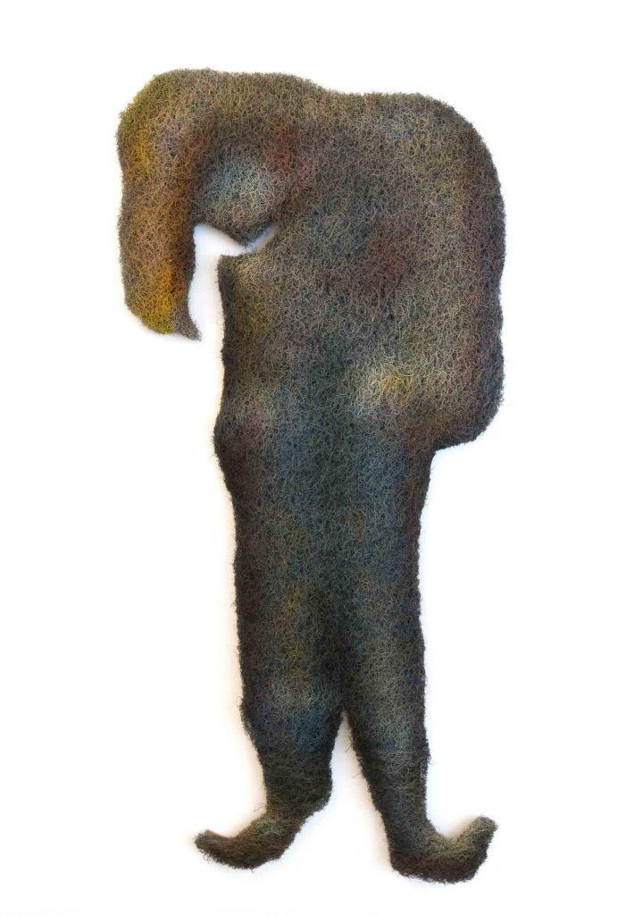 Mujer de pie (Dirne)