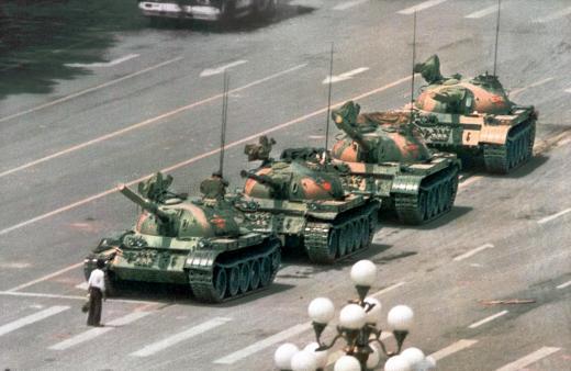 tiananmen tanks