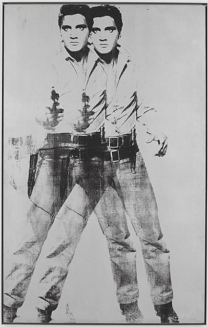 Andy Warhol 1963 Double Elvis