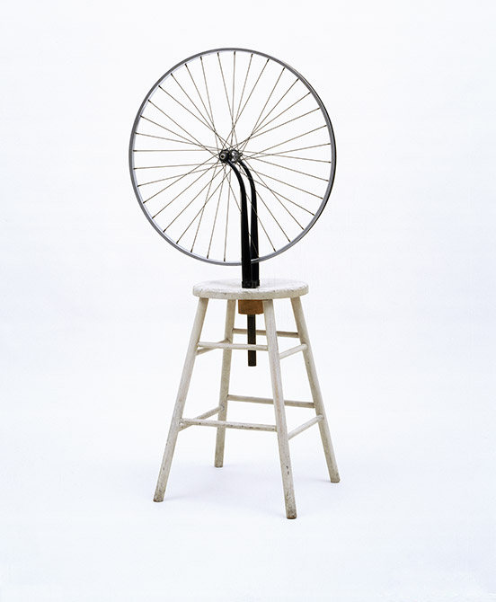 Marcel Duchamp 1951 Bicycle Wheel