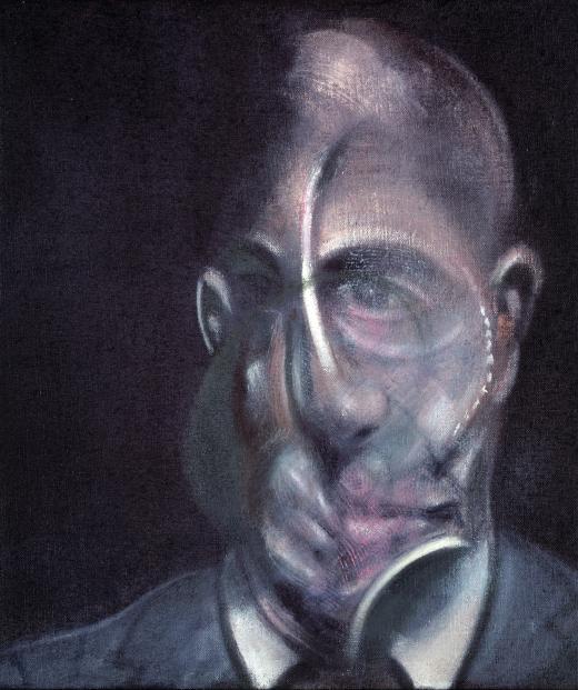 Retrato de Michel Leiris