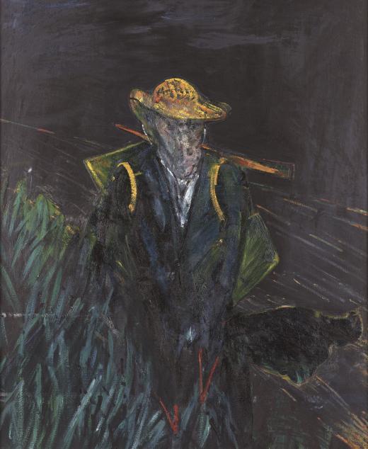 Study for Portrait of Van Gogh I