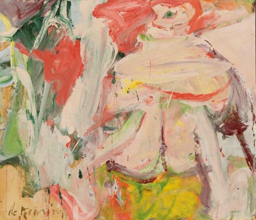 Sin título (Mujer en un bosque