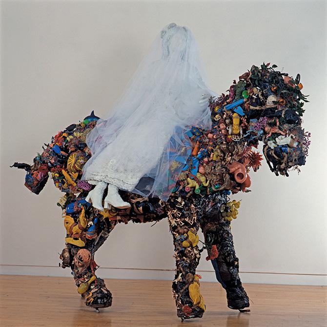 El caballo y la novia