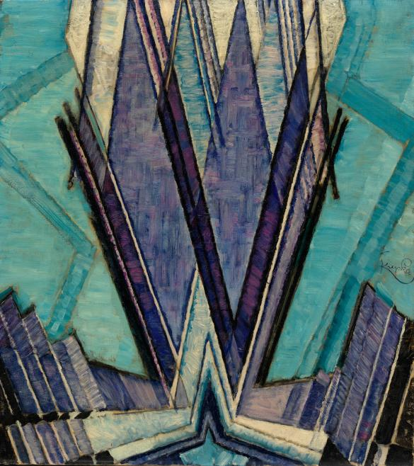 frantisek kupka form of blue