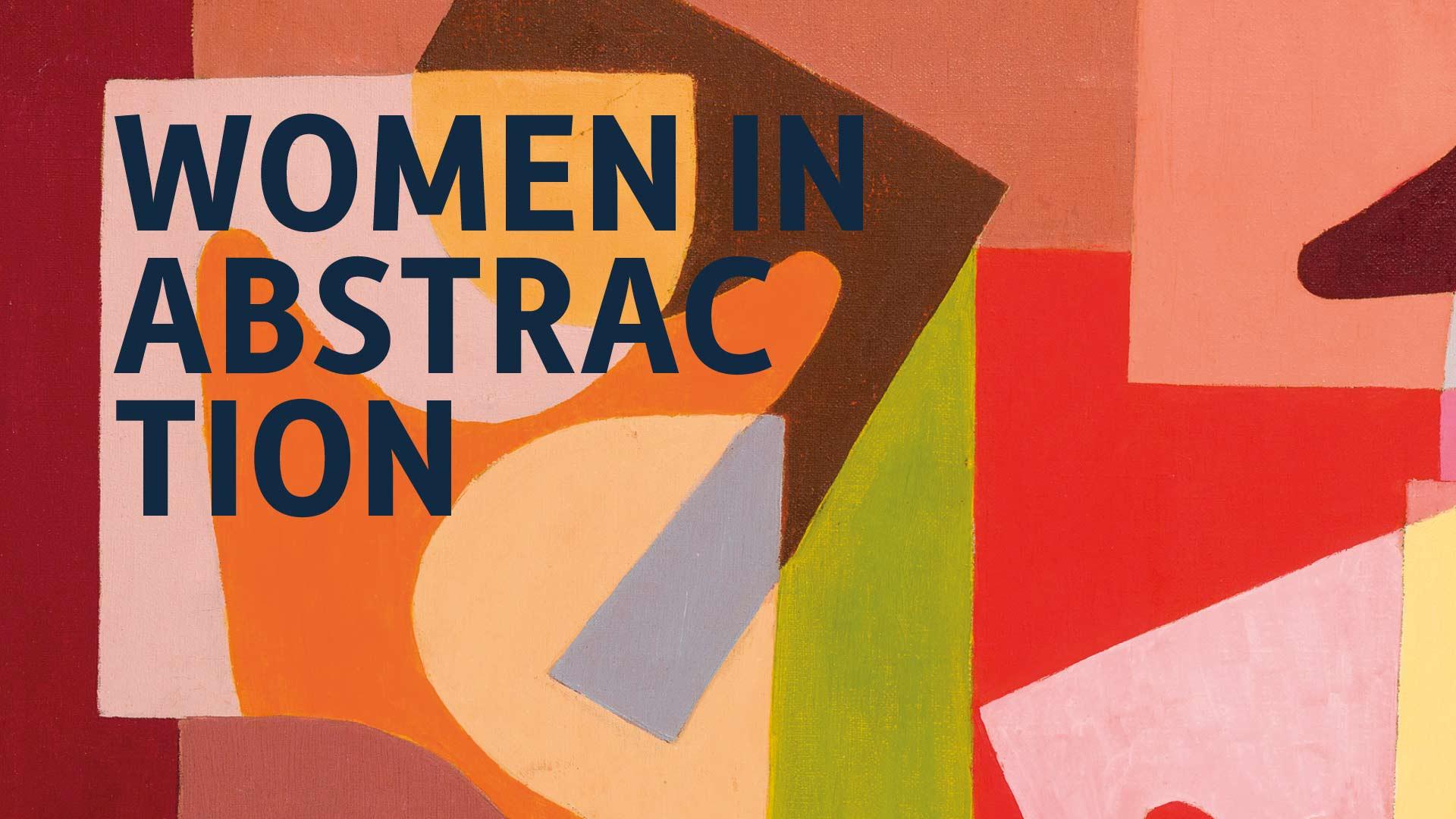 Mujeres de la abstracción