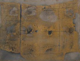 Antoni Tapies great painting